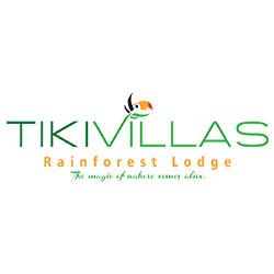 TikiVillas Rainforest Lodge logo