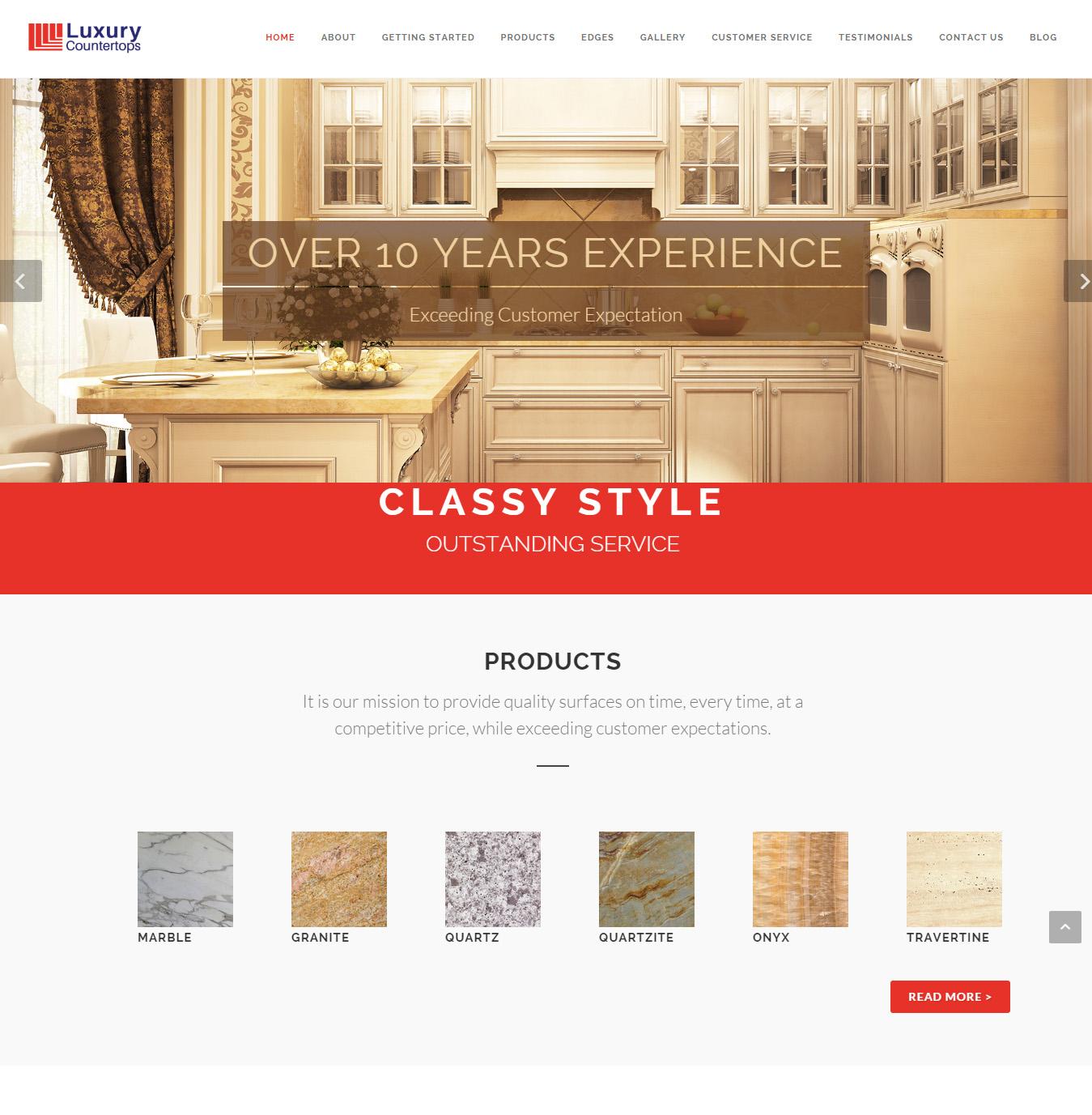 Luxury Countertops screenshot