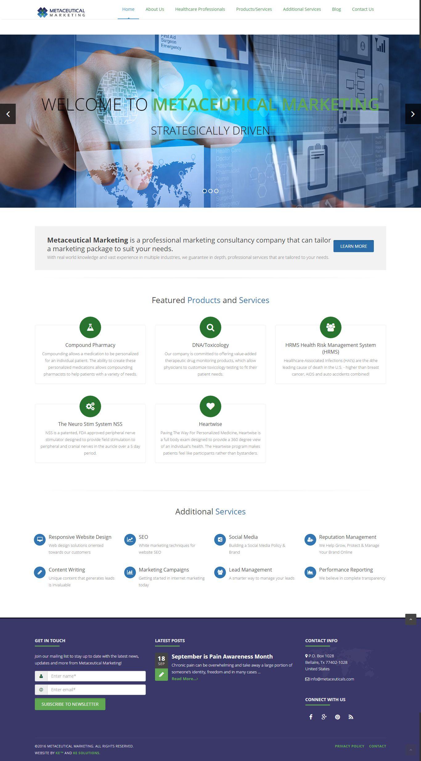 Metaceuticals Marketing screenshot