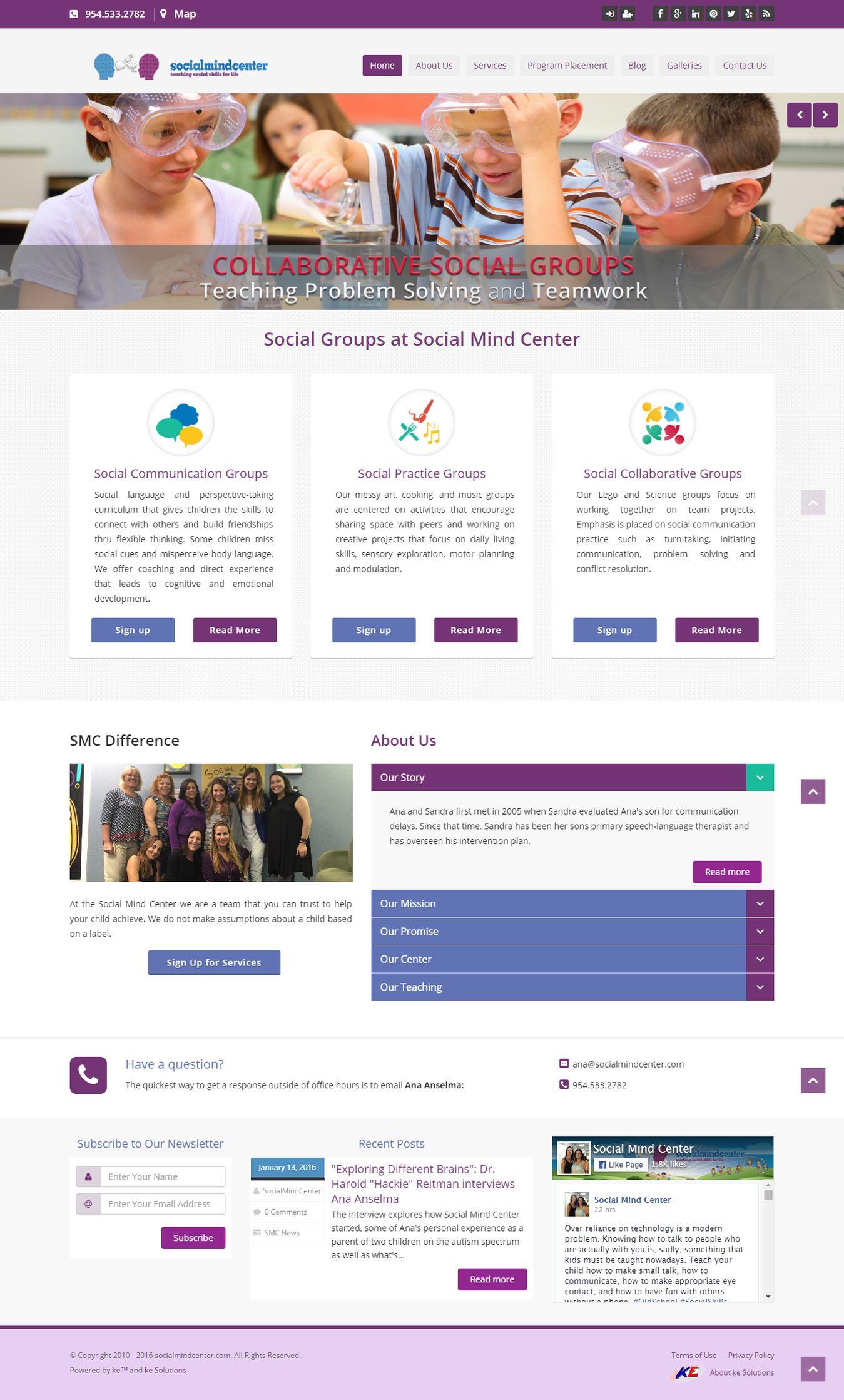 Social Mind Center screenshot
