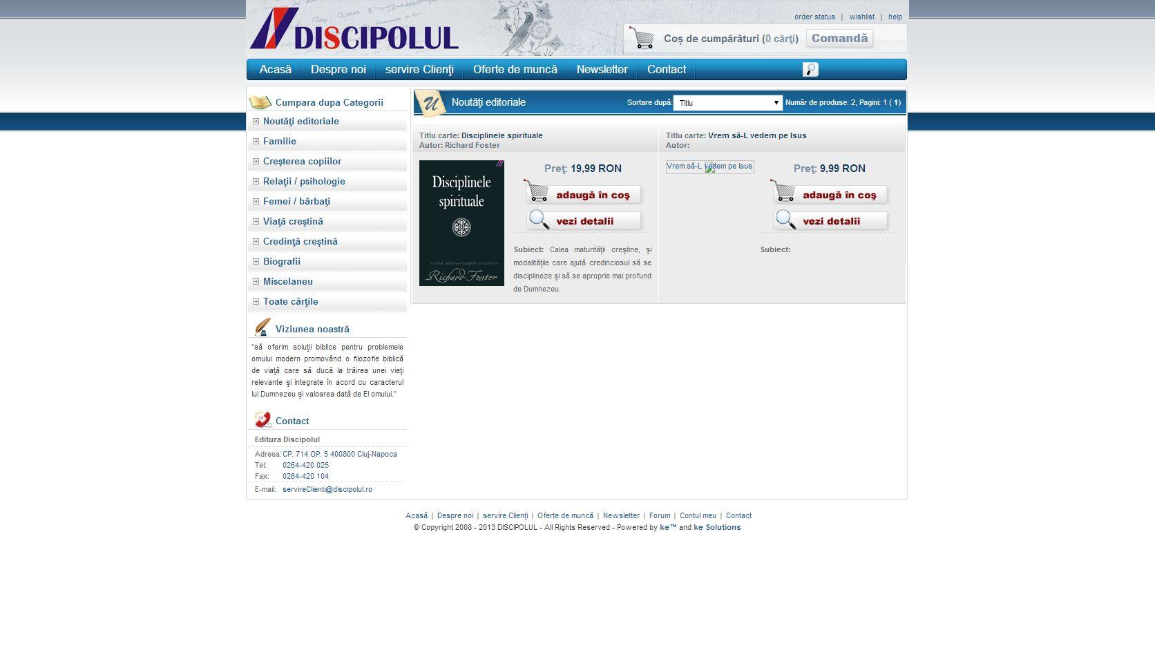 Discipolul screenshot