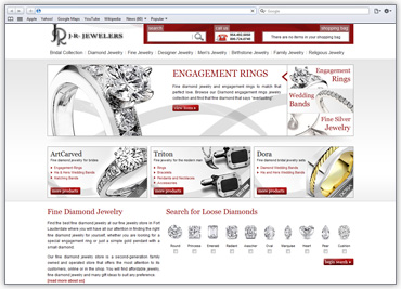 JR Jewelers screenshot