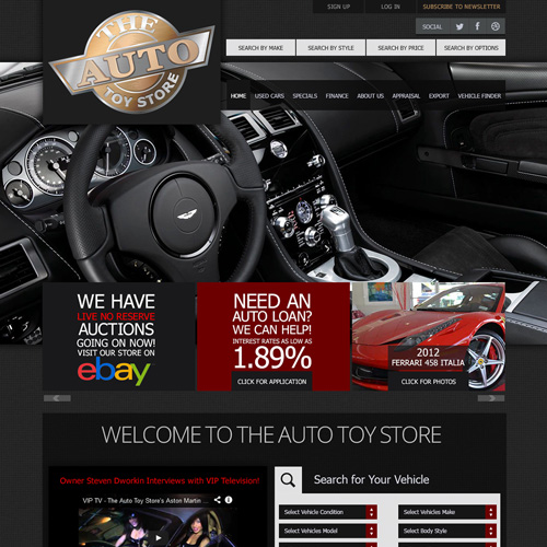 The Auto Toy Store screenshot