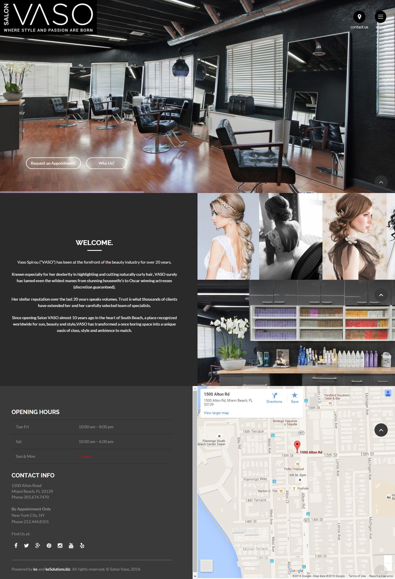 Salon Vaso screenshot