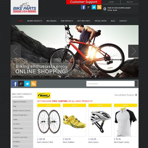 Bike Parts USA screenshot