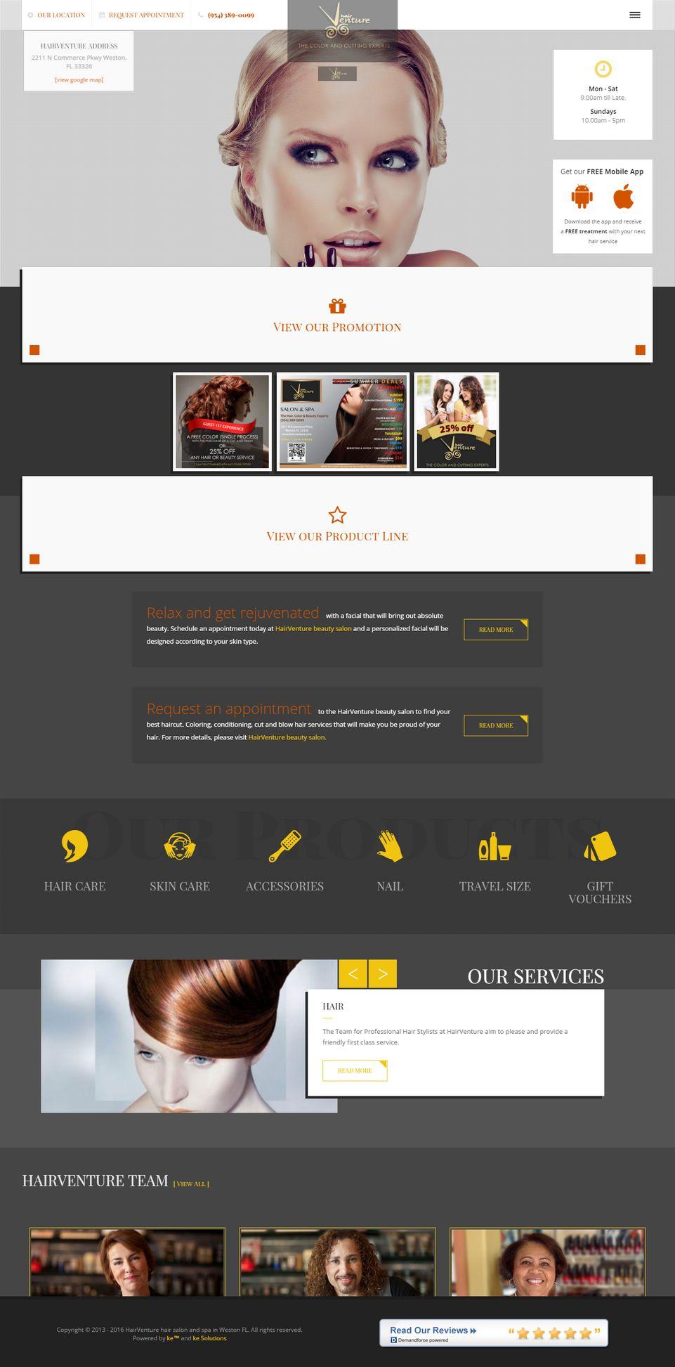 Hair Venture screenshot