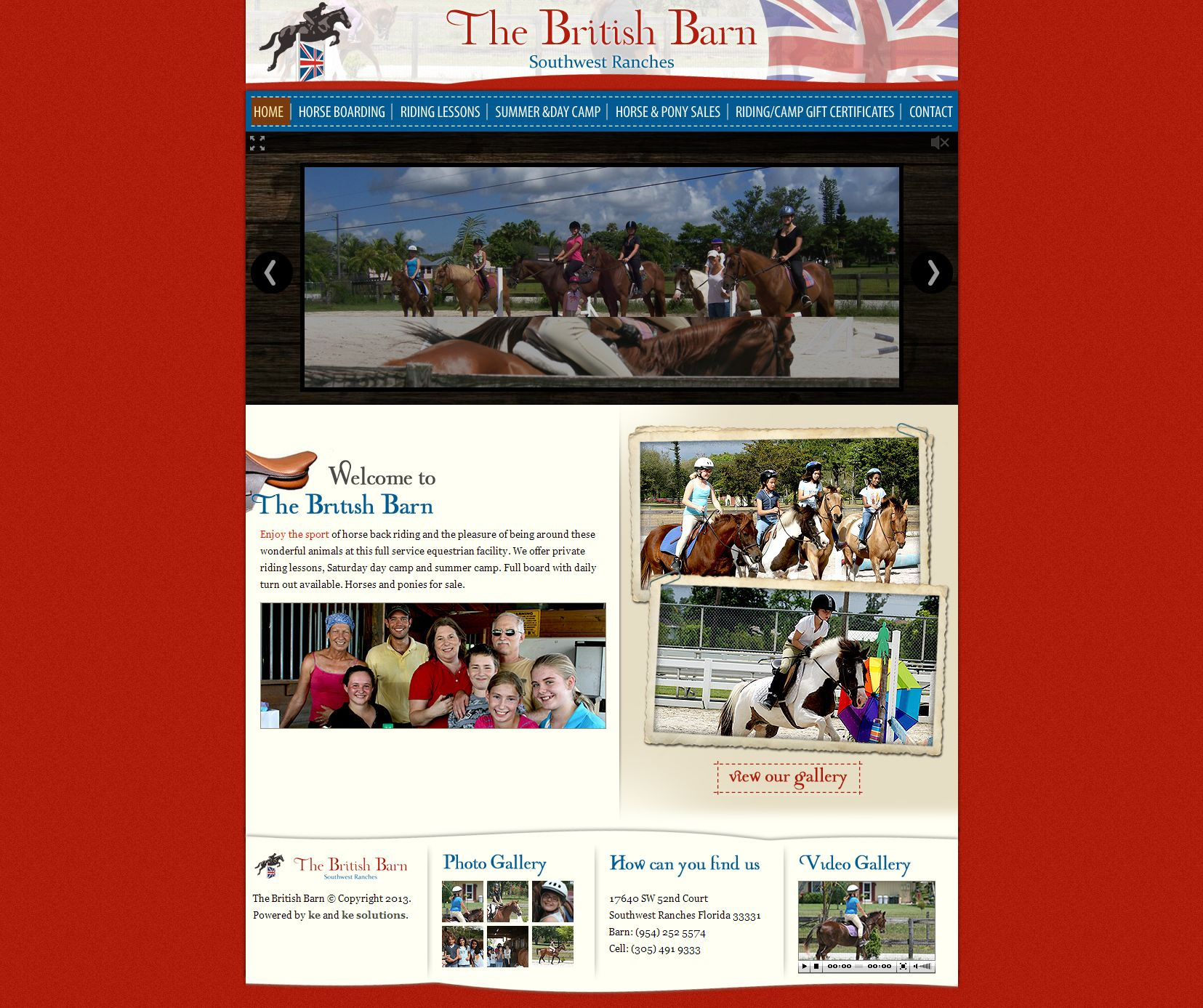 British Barn screenshot