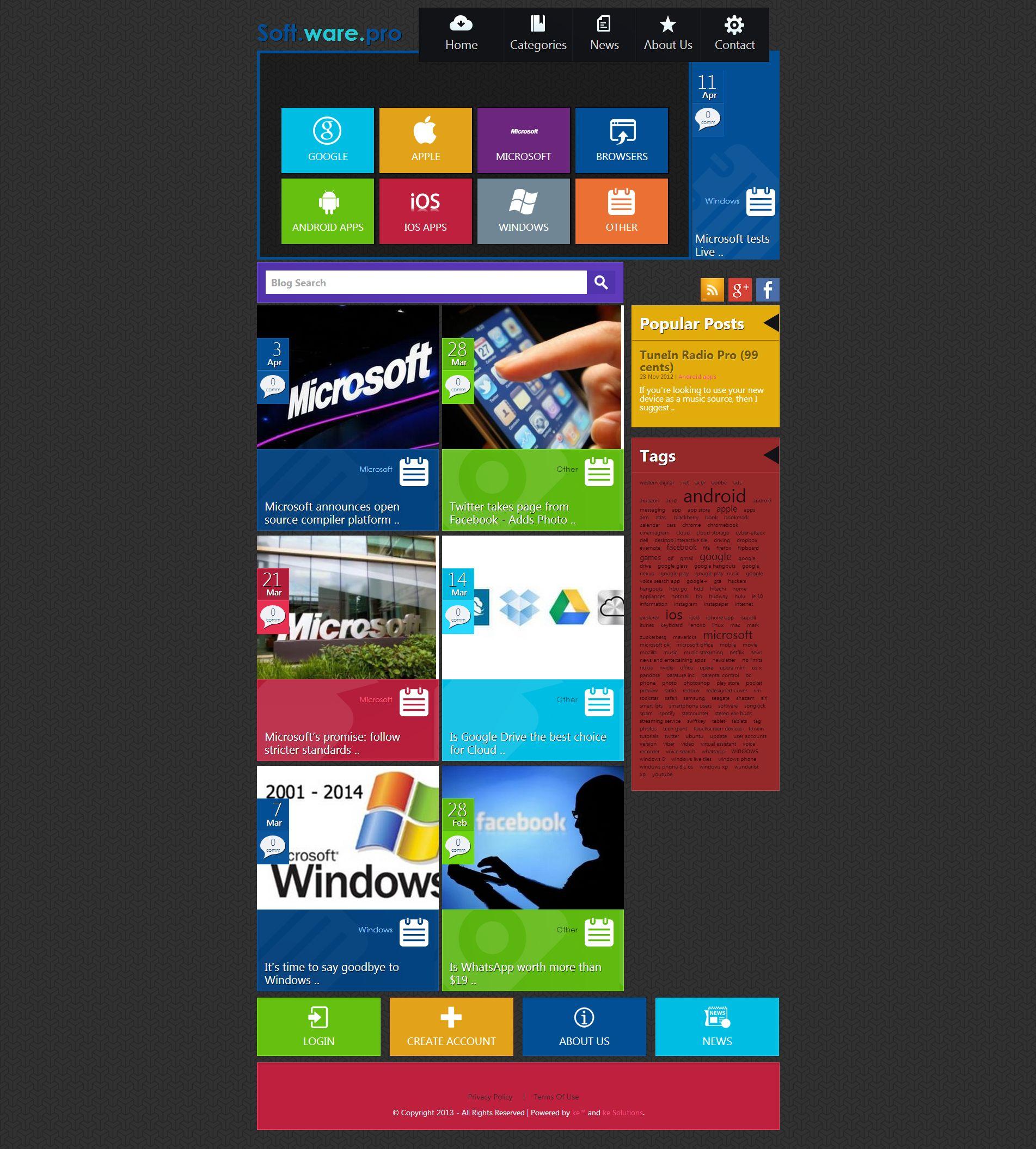 Soft.ware.pro screenshot