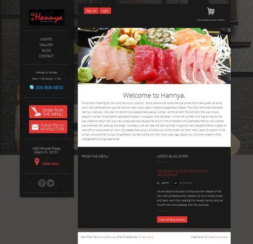 Hannya Restaurants screenshot