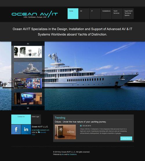 Ocean AV/IT screenshot