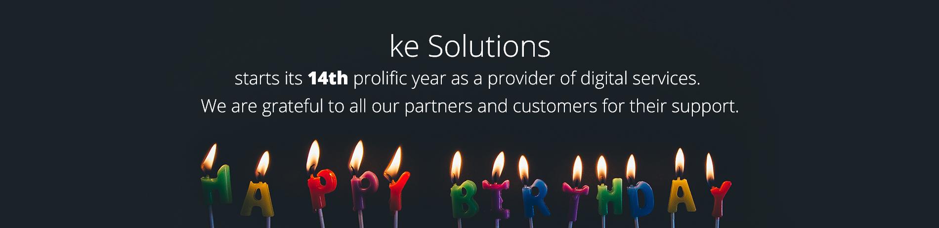 ke Solutions Anniversary