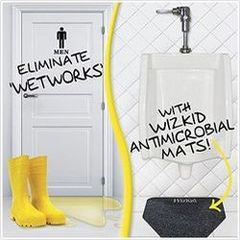 WizKid Antimicrobial Urinal mat