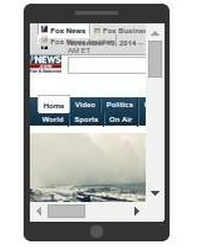 foxnews.com rendered on phone