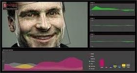 nViso 3D facial mapping interface