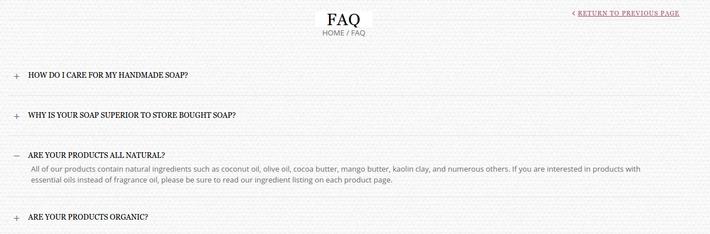 Poepa soap website