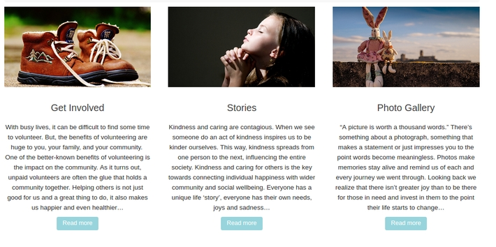 Lyon Foundation website, the Get Involved page